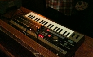 a microKORG (not mine) doing its thing